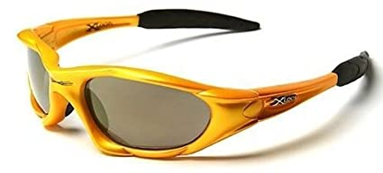 X-Loop Pour homme Coupe Confort Léger Sports 'Bermuda' Lunettes De Soleil - Complet UV400 Disponible en 10 Colours Idéal Pour Cyclisme & Jogging - Jaune, One Size