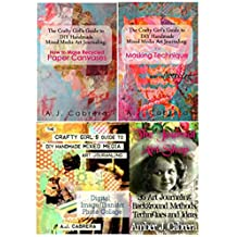 The Crafty Girl's Guide to DIY Handmade Mixed Media Art Journaling: The Bundle Collection #1 (English Edition)