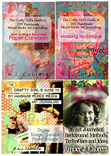 The Crafty Girl's Guide to DIY Handmade Mixed Media Art Journaling: The Bundle Collection #1 (English Edition) (Bundle-art Supplies)