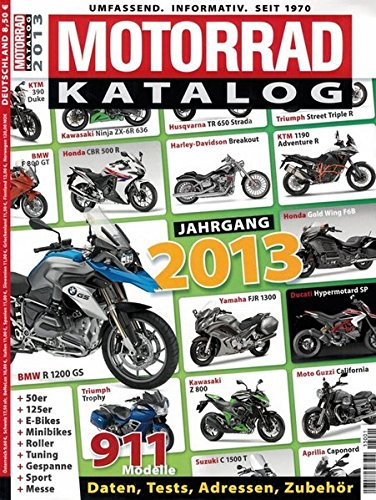 Preisvergleich Produktbild Motorrad-Katalog 2013
