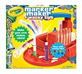 Crayola-Marker Maker With Wacky Tips. Create Your Own Colors By Using The Mixing Guide Or Make Your Own! Use Your Custom Markers To Doodle And Draw. Create Markers With Six Different Wacky Tips. This 8-7/8X9-1/4X5-1/2 Inch Package Contains Th...