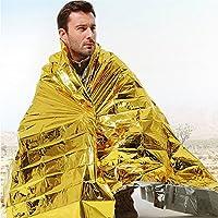 4x extra grande 2m oro lámina de emergencia supervivencia mantas