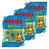 Haribo Süß-See, 3er, Gummibärchen, Weingummi, Unterwassermotive, Fruchtgummi, im Beutel, 200 g