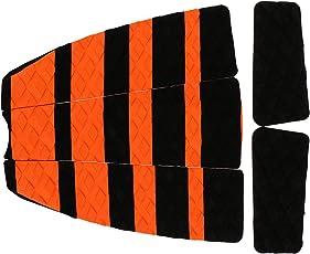 W900Surfbrett, rutschfest Traktion hinten Tail Pads Surf Deck Grips Griff longue-orange schwarz