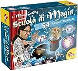 Liscianigiochi - 35632 -École de Magie, kit de Magie 54 Trucs