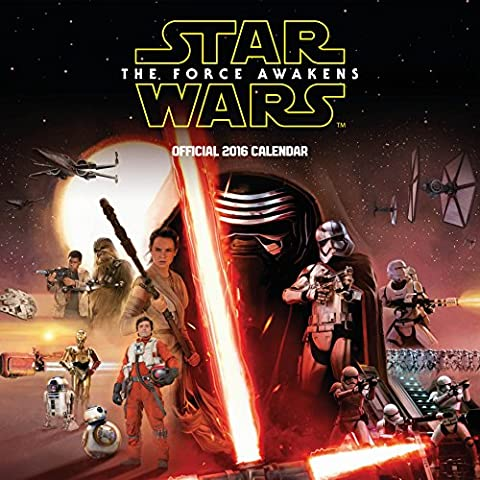 Calendrier Chinois 2016 - The Official Star Wars Episode 7 Movie