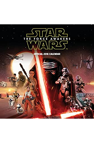 The Official Star Wars Episode 7 Movie 2016 Square Calendar