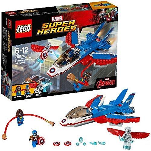 LEGO Super Heroes - Jet del Capitán América (76076)