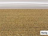 Die HEVO® Sisal Naturfaser Kollektion - Salsa Sisal Teppichboden in 6 Farben - Inkl. 2% HEVO® Bestellgutschein Honig