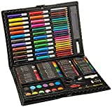 Darice Various Artyfacts Portable Studio Deluxe Art Set-120Pcs