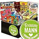 Traummann ♥ Schokolade Ostprodukte ♥ Schokoladen Geschenkset L in edler schwarzer Geschenkbox ♥ Maulwurf, Viba, Zetti Bambina ♥