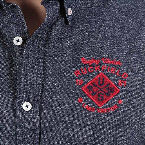 Ruckfield - Chemise chaude pour l'hiver - Bleu Bleu