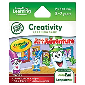 LeapFrog Explorer Game: Crayola Art Adventure (for LeapPad and Leapster)