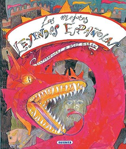 Mejores Leyendas Españolas, Las (Grandes Libros) por Susaeta Ediciones S A