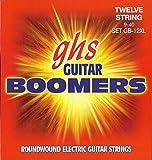 GHS GB12XL Jeu de 12 Cordes pour Guitare électrique Extra Light