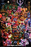 Five Nights At Freddy's Maxi Poster 61 x 91,5 cm Ultimate Group Plastifié