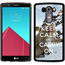 Print Motif Coque de protection Case Cover // Q01015493 keep calm and carry on 740 // LG G4 H815