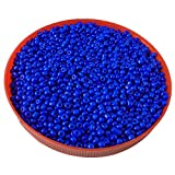 #5: eshoppee Blue,turquoise family colors glass seed beads pot 100 gm (approx 2800 beads) for jewllery making and home decoration,DIY kit (Blue 2)