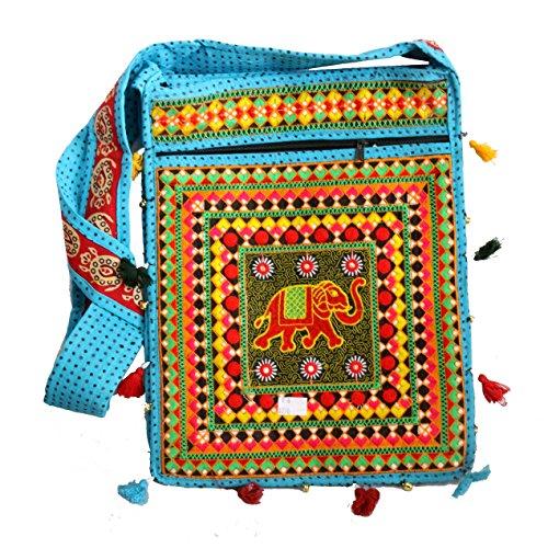A Sky Color Long Handle Hanging Bag