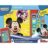 La maison de Mickey : Un livre et un téléphone-jouet