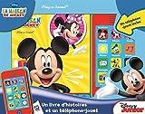 La maison de Mickey - Un livre et un téléphone-jouet