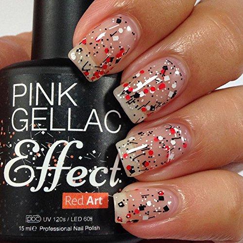 Effet Gellac Rose Rouge Art