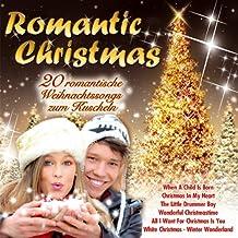 Romantic Christmas; 20 Romantische Weihnachtssongs zum Kuscheln; Winter Wonderland; When a Child is born; Let is snow; Wonderful Dream; White Christmas; Christmas in my heart; The Christmas song; Santa Baby; Wonderful Christmastime; Little Drummer Boy