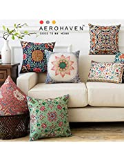 AEROHAVEN Satin Turkish Decorative Throw Pillow