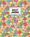 Bullet Journal: Colorful Cutie Cats | 150 Dot Grid Pages (size 8x10 inches) | with Bullet Journal Sample Ideas
