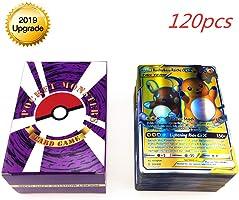Anivia Jeux De Cartes 100 Pcs Pokemon Cartes Style TCG Holo EX Full Art 59 Cartes EX 20 Cartes Mega EX 20 Cartes GX 1...