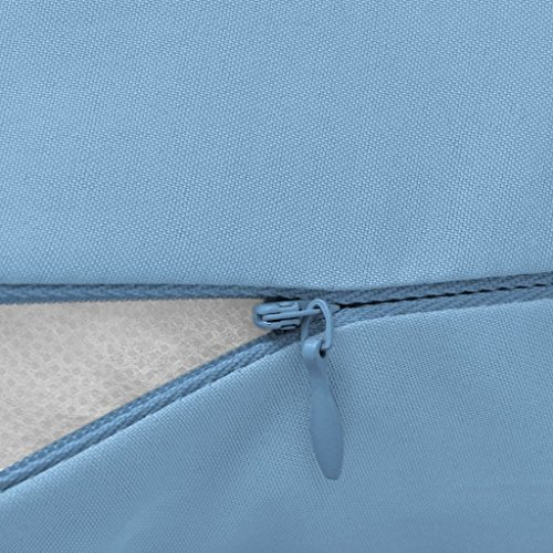 Imagen para vidaXL 131585 - Cojín de lactancia para dormir de lado, color azul