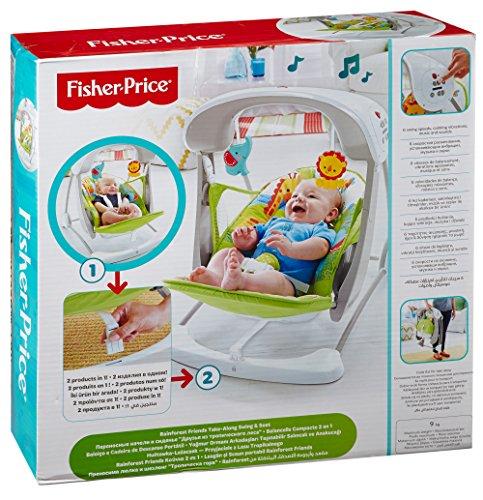 ce03a9ad3 Fisher-Price Modelo CCN92 Hamaca Bebe electrica - Hamaca Bebe - La ...