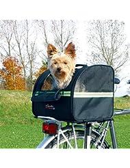 Transportín Cesta trasera de perro para bicicletas