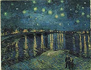 International Publishing 1001 N16170b - Starry Night Over The Rhone, clásica Puzzle