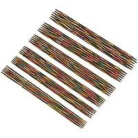 KnitPro Symfonie - Juego de agujas para hacer punto (5 unidades, madera, 15cm)
