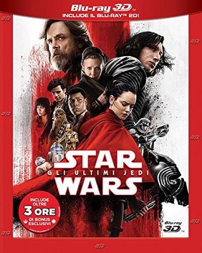 Star Wars: Gli Ultimi Jedi (3 Blu-Ray 3D + 2D);Star Wars - The Last Jedi
