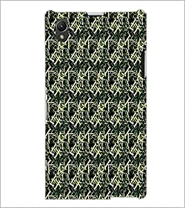 PrintDhaba Typography D-6079 Back Case Cover for SONY XPERIA Z1 (Multi-Coloured)
