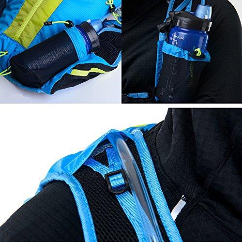 Naturehike Ultralight Nylon Running Rucksack Marathon Radfahren Taschen Laufen Schulter Riding Weste für männlich und weiblich 12L Grün