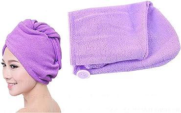 Taran Women Microfiber Bathing Quick Dry Hair Magic Drying Turban Wrap Towel Hat Cap Hair Care