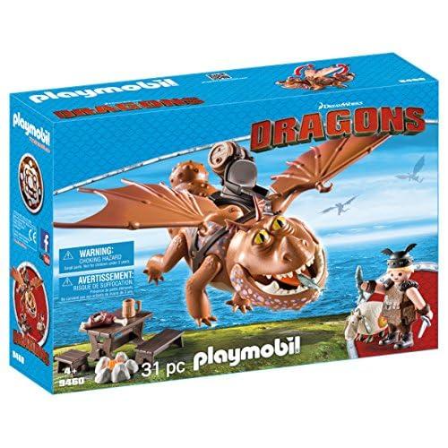PLAYMOBIL DreamWorks Dragons Barrilete y Patapez, A partir de 4 años (9460) 11