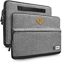 "Tomtoc Funda para Nueva MacBook Pro Touch Bar A1707 de 15 pulgadas | 14"" ThinkPad T-Series / X1 Carbon | 14"" HP Acer Chromebook | Notebook Ultrabook Tablet,, resistente a derrames, gris"
