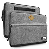 tomtoc Custodia per 14 Pollici ThinkPad T-Series / X1 Carbon | 14' HP Acer Chromebook | Notebook Ultrabook Tablet | 15 pollici MacBook Pro 2016 late - 2018 (A1990/1707) | Grigio