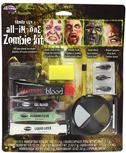All in One Family Zombie Makeup Kit (Zombie Make Up Ideen)