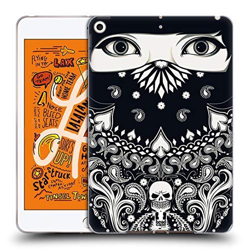 Head Case Designs Muster Bandana Soft Gel Huelle kompatibel mit iPad Mini (2019) (Bandana Mini Ipad Case)