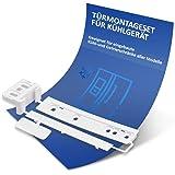 Dörrmonteringssats ersättning för AEG 223034904/1 gångjärn gångjärn gångjärn skena glidskena dragskena monteringssats för kyl