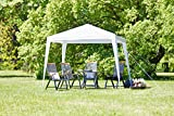 JYSK Garden Gazebo SKJEAND 2.5x2.5m steel/PE white