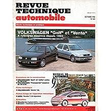 REVUE TECHNIQUE AUTOMOBILE N° 544 VOLKSWAGEN GOLF 3 ESSENCE 4 CYLINDRES CL / GL / GT / GTI DEPUIS 1992