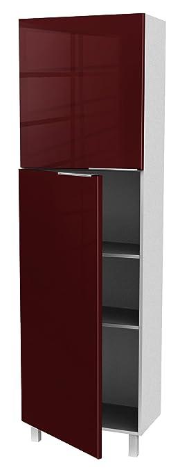 berlioz creations ca6bd meuble de cuisine colonne 2 portes ... - Meuble De Cuisine Colonne