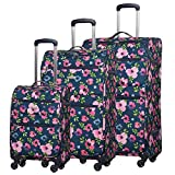 5 Cities Ultra Lightweight 4 Pieces 3 Pieces Valise Bagages, 21'Bagages...