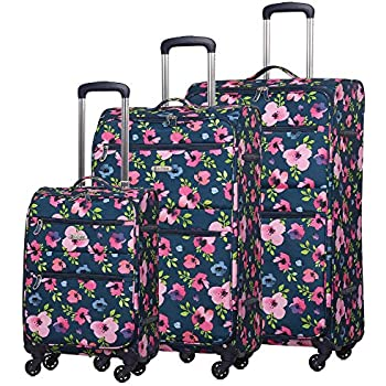 203d47551bf7 Peppa Pig Patchwork Luggage Set: Amazon.co.uk: Luggage
